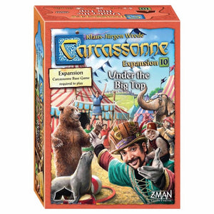 CARCASSONNE : UNDER THE BIG TOP 10th Expansion