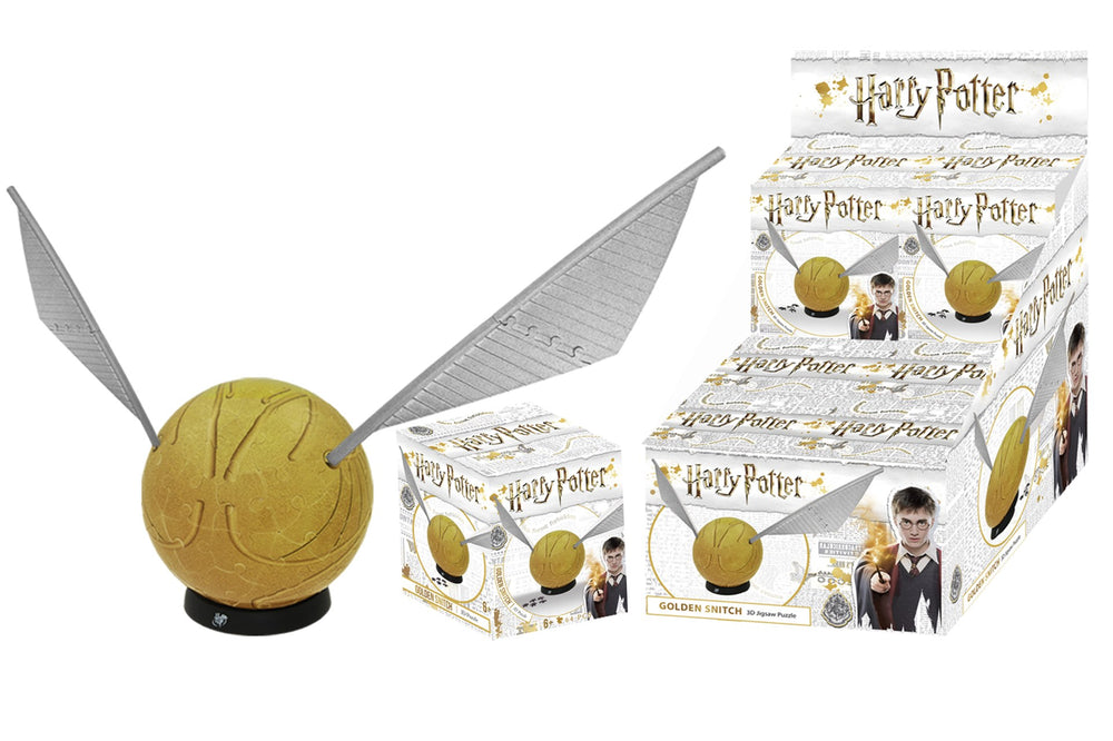 Load image into Gallery viewer, HARRY POTTER GOLDEN SNITCH 3D PUZZLE