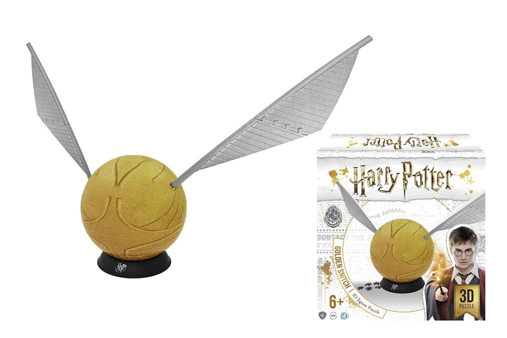 HARRY POTTER GOLDEN SNITCH 6 INCH 3D PUZZLE