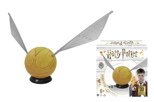 Load image into Gallery viewer, HARRY POTTER GOLDEN SNITCH 6 INCH 3D PUZZLE