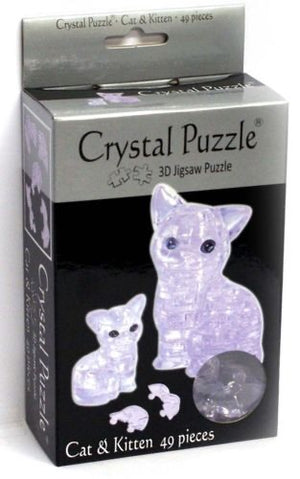 3D CRYSTAL PUZZLE: CATS
