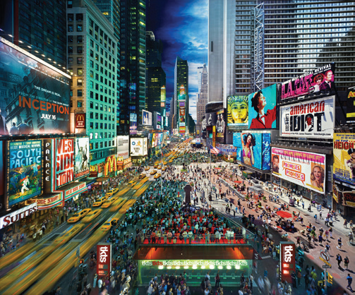 STEPHEN WILKES DAY TO NIGHT - TIMES SQUARE