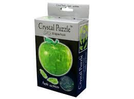 3D CRYSTAL PUZZLE: GREEN APPLE