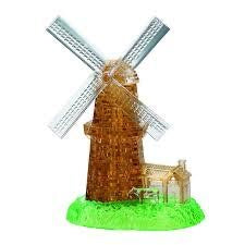 3D CRYSTAL PUZZLE: WINDMILL