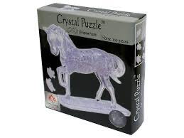 3D CRYSTAL PUZZLE: HORSE