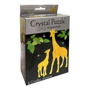 3D CRYSTAL PUZZLE: GIRAFFES