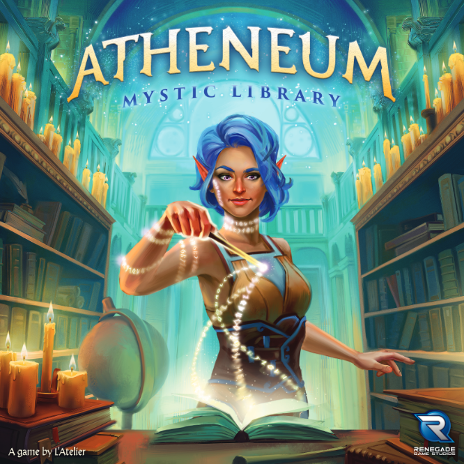 Load image into Gallery viewer, ATHENEUM: MYSTIC LIBRARY