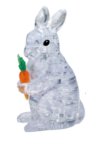 Load image into Gallery viewer, 3D CRYSTAL PUZZLE: RABBIT