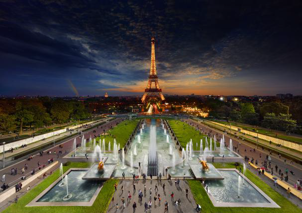 Load image into Gallery viewer, STEPHEN WILKES DAY TO NIGHT - EIFFEL TOWER PARIS