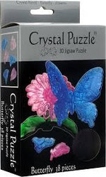 3D CRYSTAL PUZZLE: BUTTERFLY