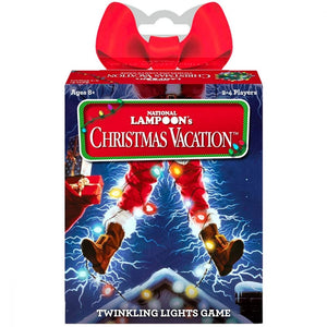 NATIONAL LAMPOON'S CHRISTMAS VACATION TWINKLING LIGHTS CARD NAME