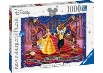 RAVENSBURGER PUZZLE DISNEY MOMENTS 1991 - BEAUTY AND THE BEAST