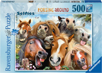 RAVENSBURGER HORSING AROUND PUZZLE