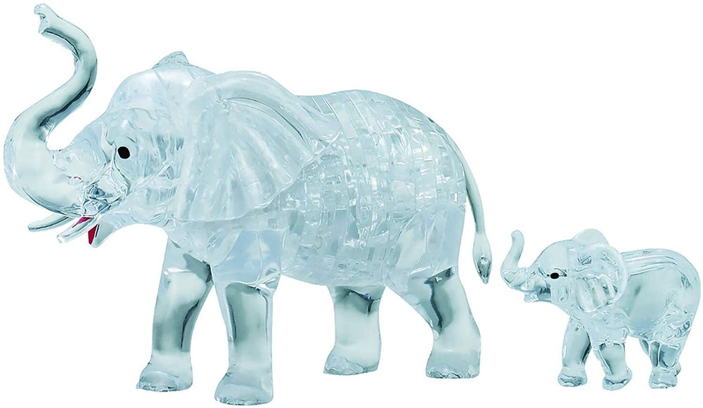 Load image into Gallery viewer, 3D CRYSTAL PUZZLE: ELEPHANTS