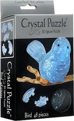 3D CRYSTAL PUZZLE: BLUE BIRD