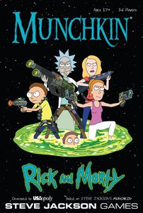 Load image into Gallery viewer, MUNCHKIN RICK & MORTY