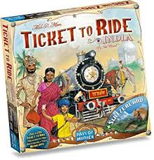 TICKET TO RIDE: INDIA & SWITZERLAND