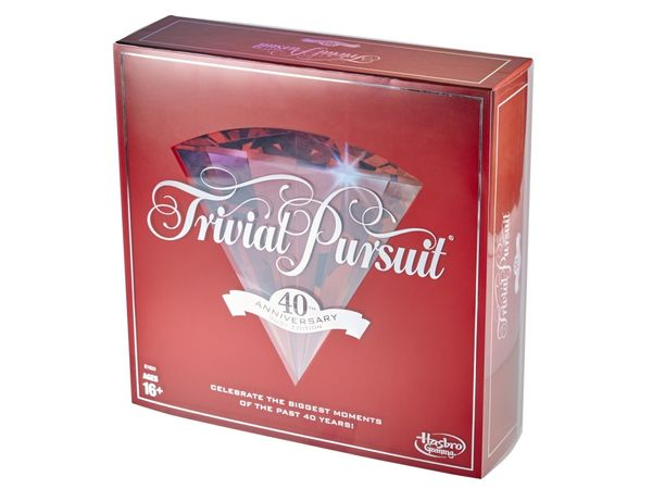 TRIVIAL PURSUIT 40TH ANNIVERSARY
