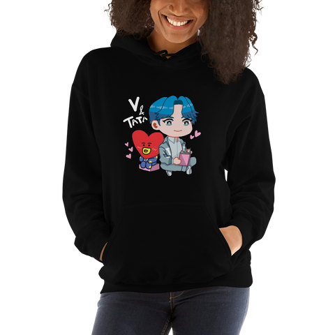 V x TATA Hooded Sweatshirt