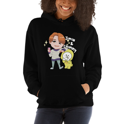 JIMIN x CHIMMY Hooded Sweatshirt