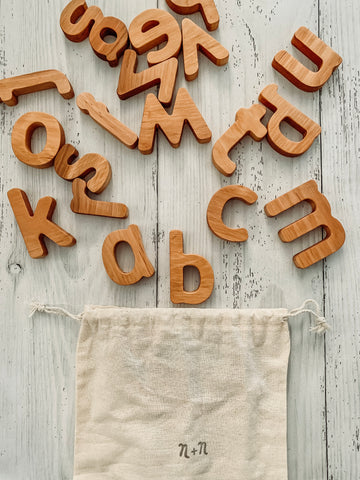 Wooden Alphabet *Sept Delivery*