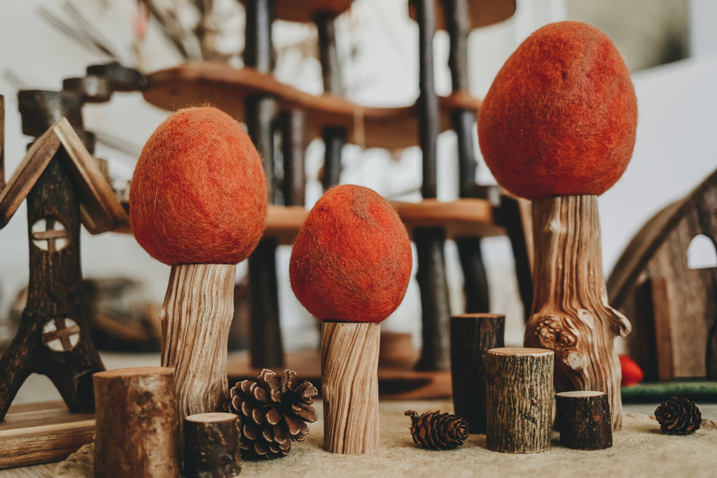 Autumn Felt Trees