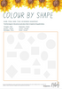 Colour by Shape Printable