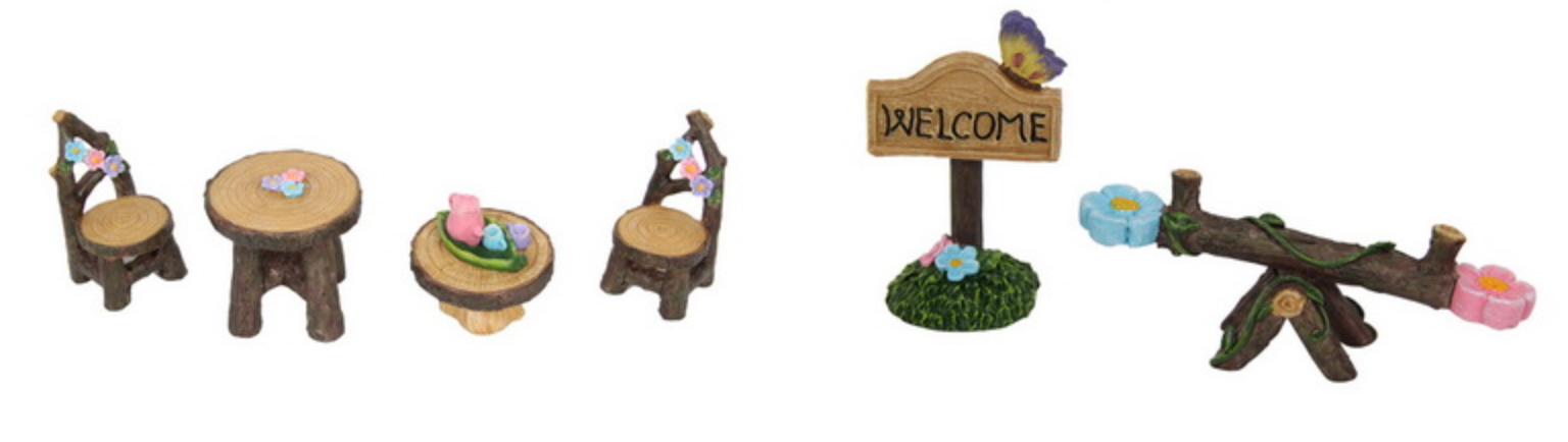 Fairy Garden Set (10Pc)
