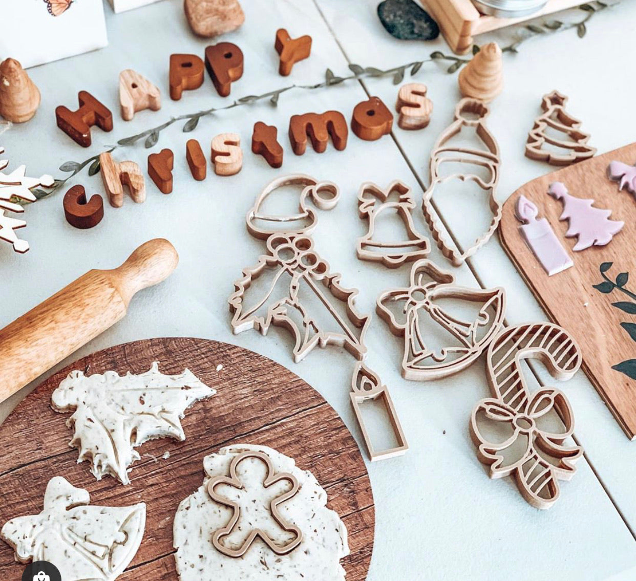 Christmas // Eco Dough Cutters