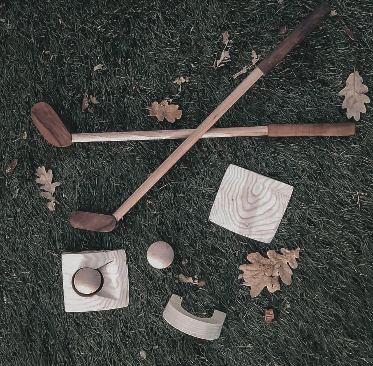 Gone Golfin' - Wooden Golf Set
