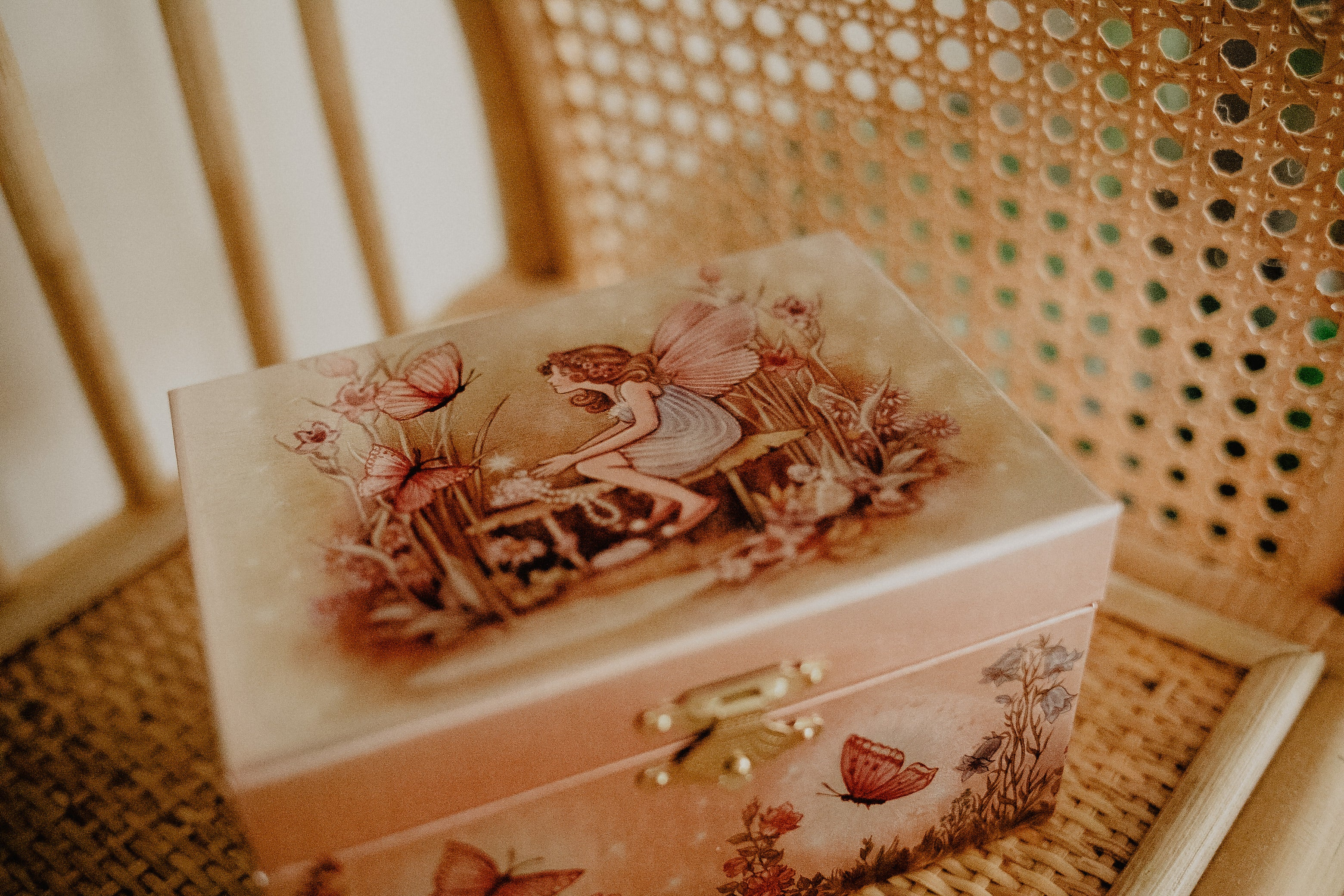 Musical Jewellery Box // Fairy & Butterflies