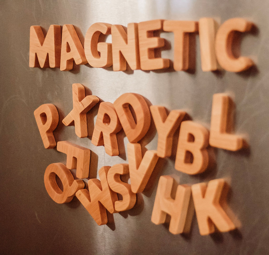 Wooden MAGNETIC Alphabet *Sept Delivery*