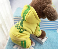 Warm Tracksuit Hoodie - XS/S/M/L/XL/XXL - Dog Addicted - UK - Pet Supplies Online