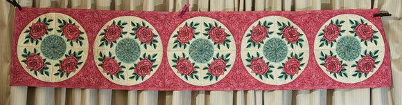 Embroidered Bed Runner