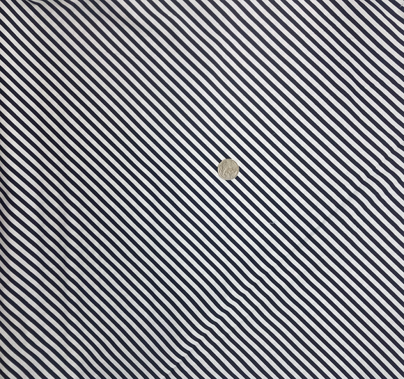 Black and white diagonal stripe