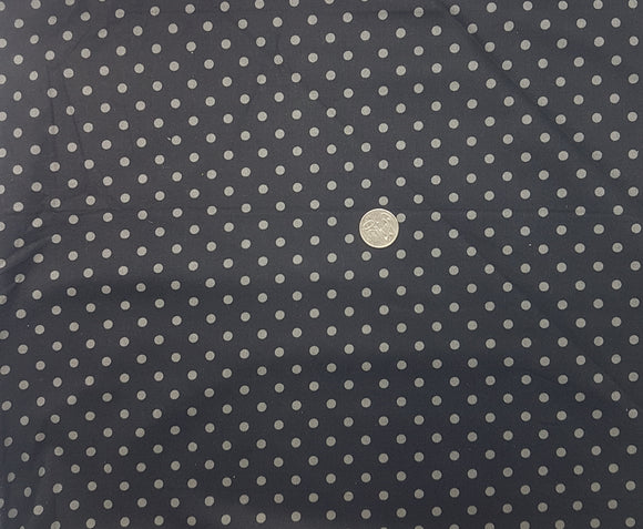 Black with grey spot, medium
