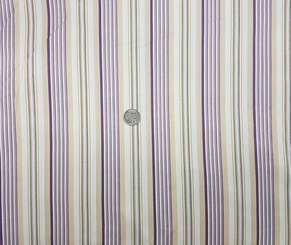 Stripe, purple, cream, beige