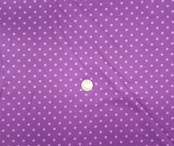 Spot, purple, medium