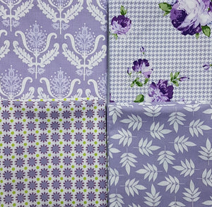 "Lilac florals 60"" wide"