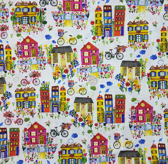 Houses and bicycles