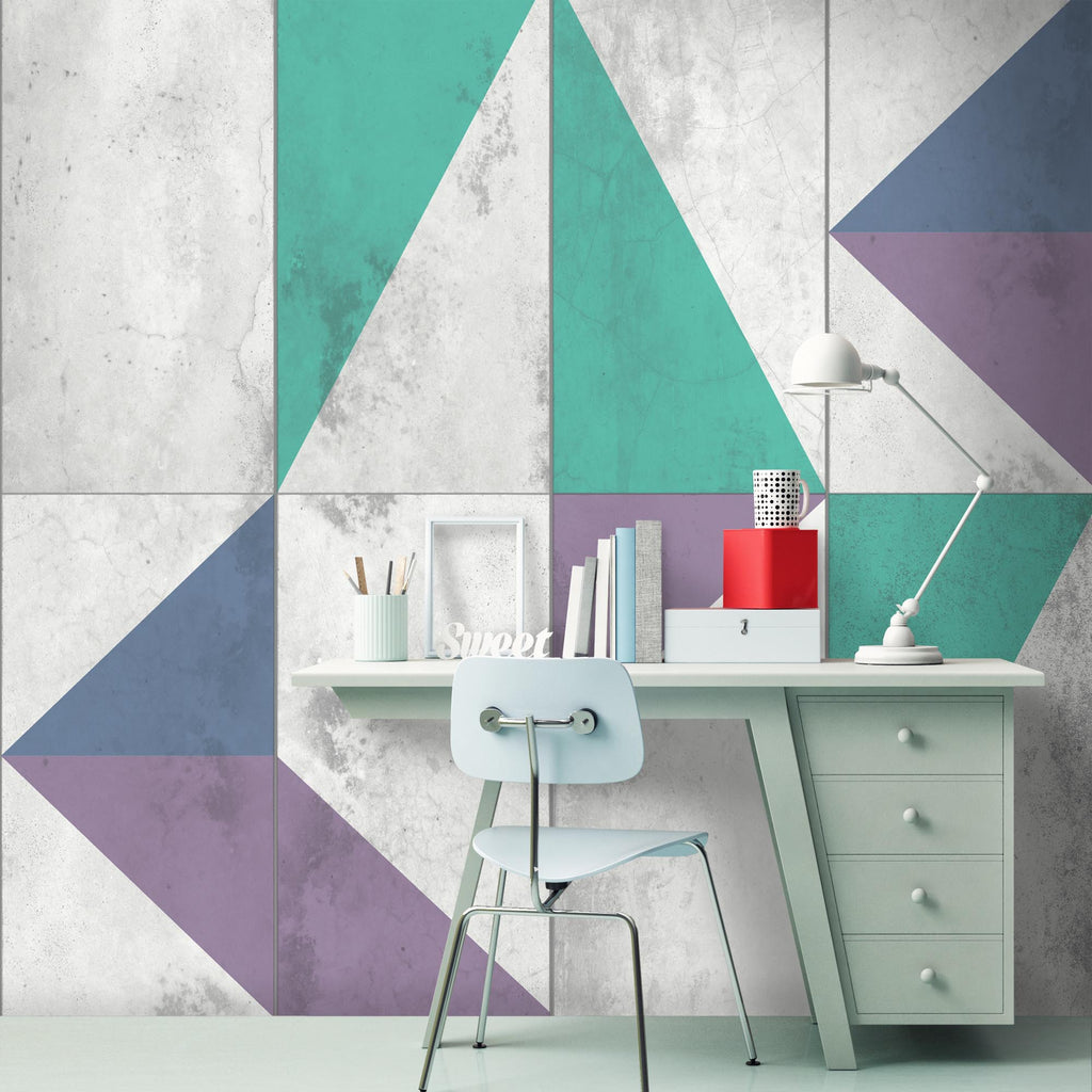 Transition Concrete Wallpaper by Woodchip & Magnolia