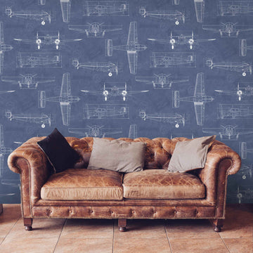 Aviator in Blueprint by Woodchip & Magnolia