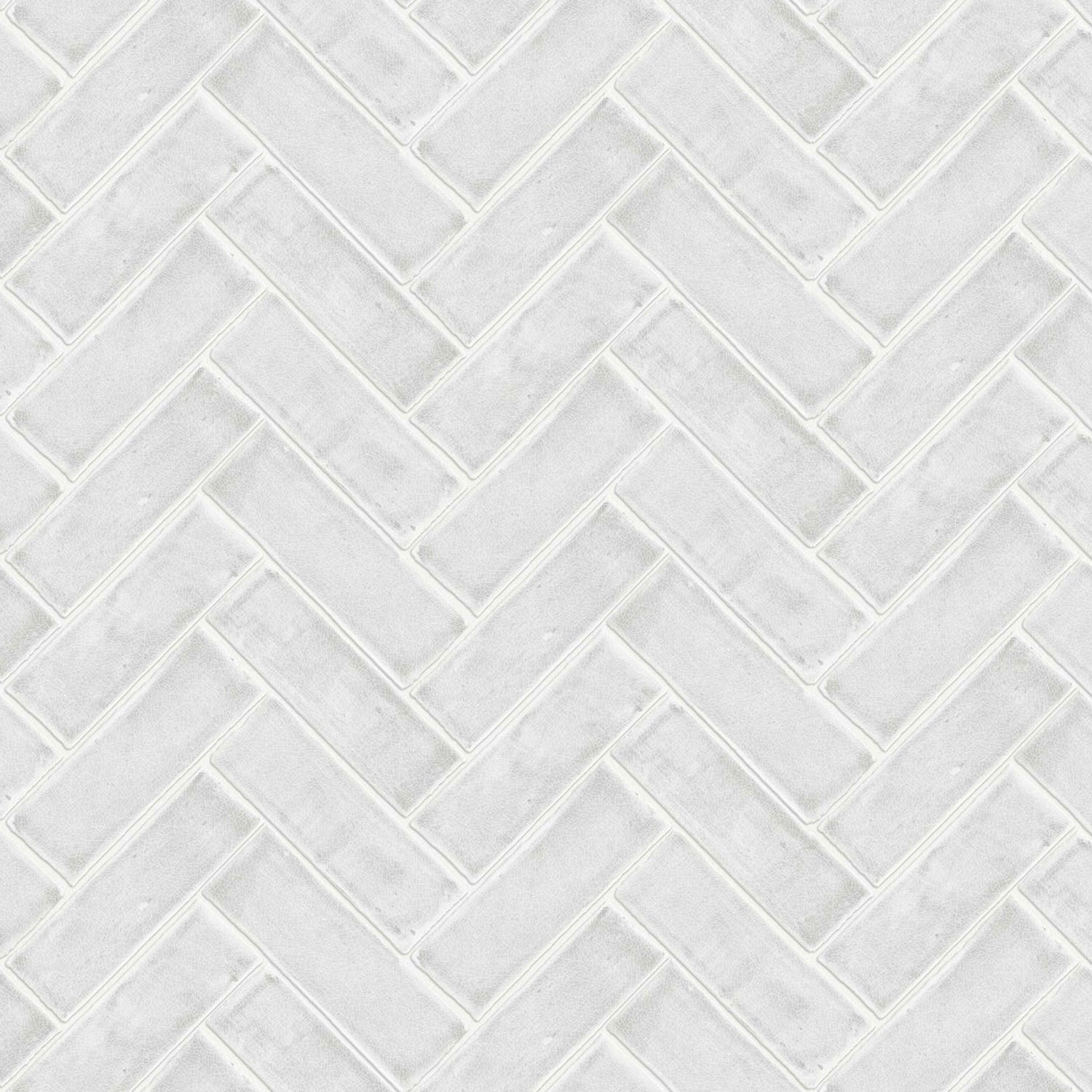 Chevron in White by Argent & Ink
