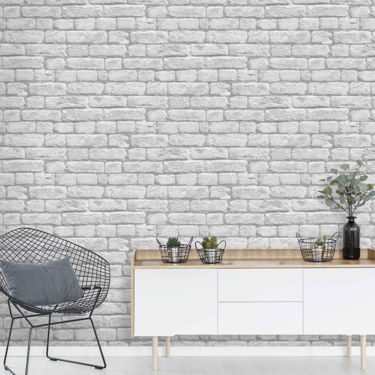 White Brick by Argent & Ink