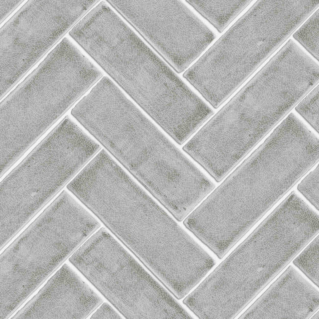 Chevron Grey by Argent & Ink