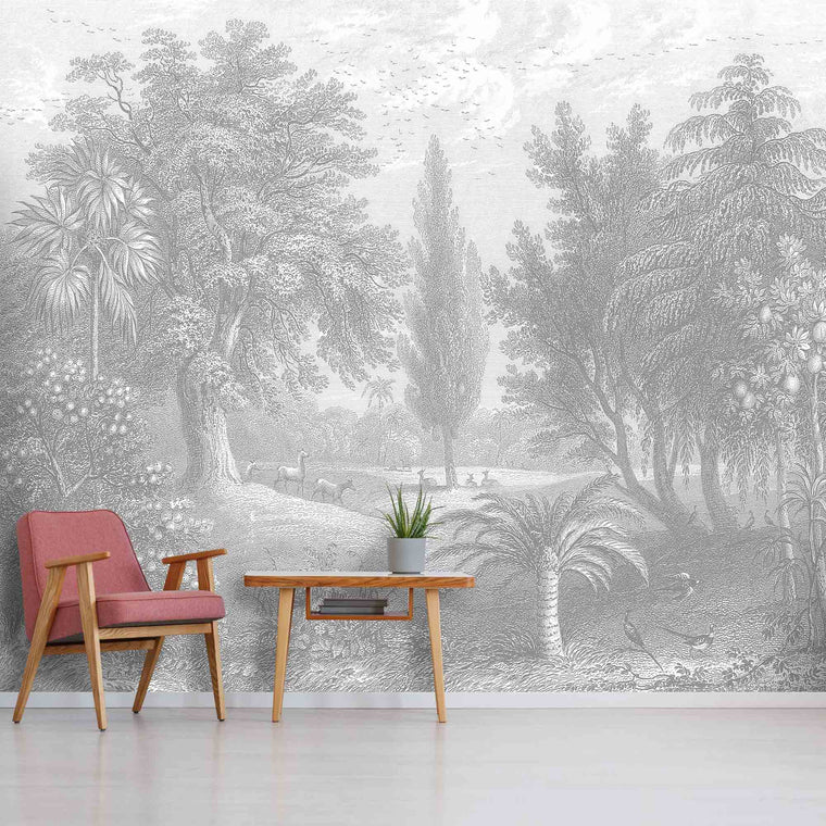 Garden of Eden Wallpaper Wall Mural