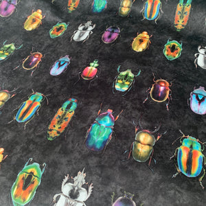 Beetle Jewels Multi Velvet
