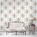 Pavilion Gardens in Sage Green Wallpaper