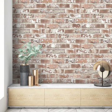 Wayoh Brick Effect Wallpaper