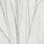 MAIDEN GRASSES Botanical Silhouette Natural Designer Wallpaper by Woodchip & Magnolia